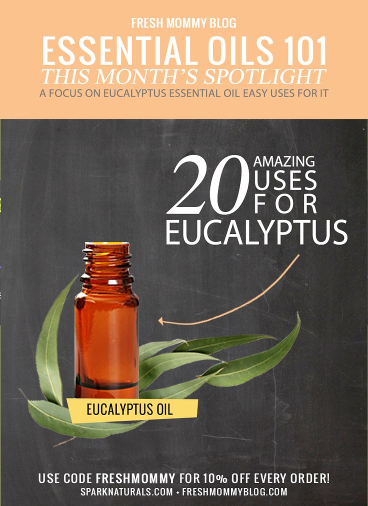Check out these 20 Simple and Amazing uses for Eucalyptus Essential Oil in this month's Oil Spotlight!