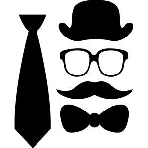 silhouette design store search designs the bow tie carte f te des p res pinterest arts. Black Bedroom Furniture Sets. Home Design Ideas