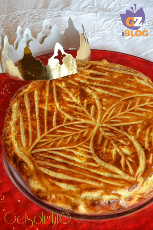 17 best images about ricette dolci on pinterest nutella torte and tira - Decor galette des rois ...