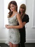 Collette Dinnigan and Miranda kerr