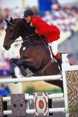 Canadian rider Ian Miller holds the record of the most Olympic equestrian appearances and matches the record for athletes in any sport, having competed in an amazing nine Olympics as of 2008.