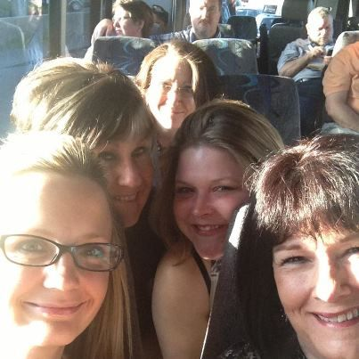 On a bus trip during the Conference in Las Vegas!