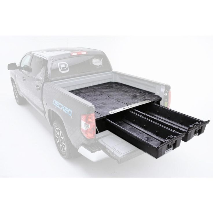 Pick Up Truck Storage System for GM Sierra or Silverado Classic (1999 - 2007), 5 ft. 9 in. Bed Length
