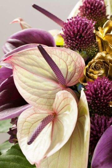 Mooie combi met die gouden rozen!