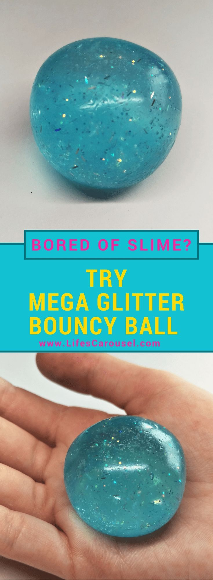 DIY Craft: DIY Bouncy Ball | EASY Kids Craft - Make your own Bouncy Balls using the same ingredients as slime! Bored of slime? Try this instead! Super Bouncy Fun!