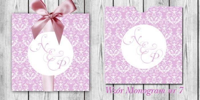 Monogram w etui - Amelia wedding