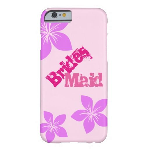 Bridesmaid Barely There iPhone 6 Case
