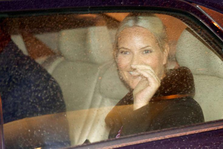 Le Prince Haakon  et la princesse Mette-Marit ont assisté au  75e anniversaire de l'Aide populaire norvégienne à Oslo.