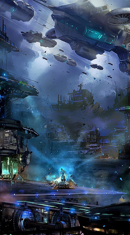 The Blue Planet, janmenjay sahoo on ArtStation
