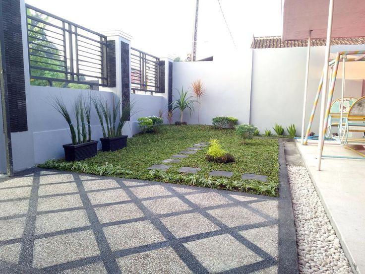 Taman Depan Rumah Minimalis Lahan Sempit 14