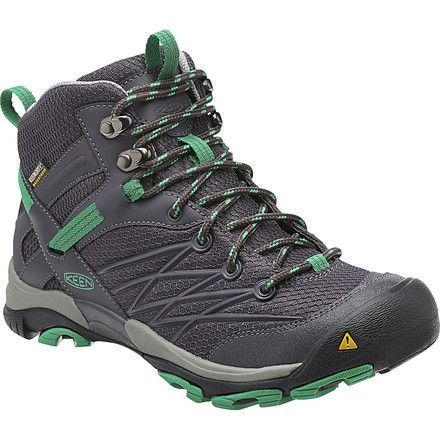 Hike in exceptional comfort and support when you use the Keen Women's Marshall Mid WP Hiking Boots. These waterproof, breathable trail boots feature Keen.Dry technology for breathability, high-traction rubber outsoles, and lightweight materials that ensure superb comfort during an all-day hike in the Wasatch or Adirondack mountains.