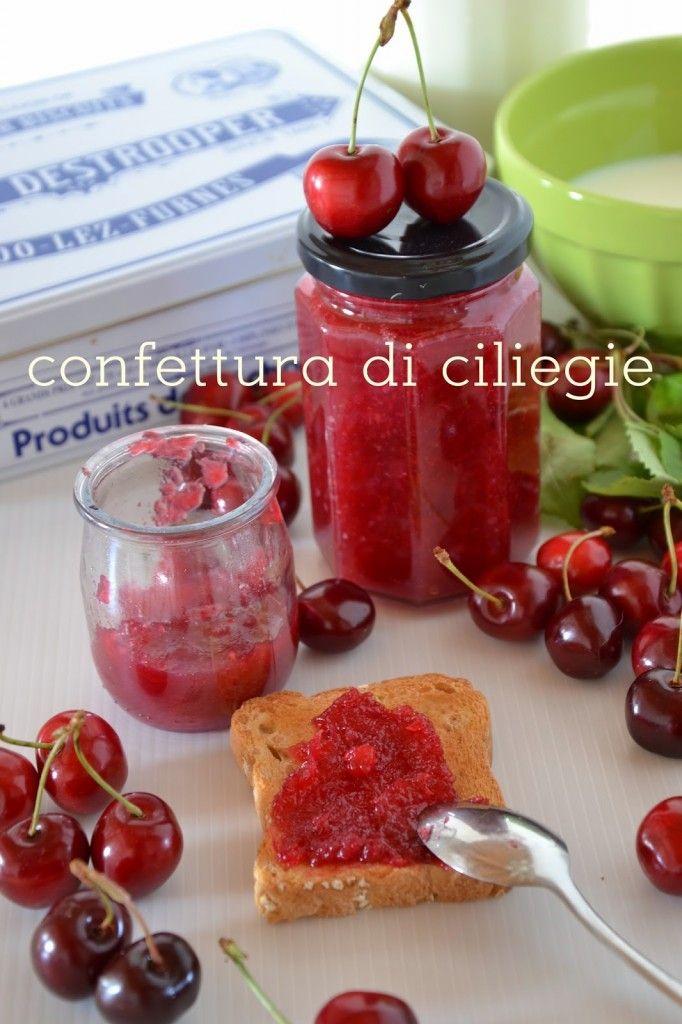CONFETTURA DI CILIEGIE | La Cucina di Monica