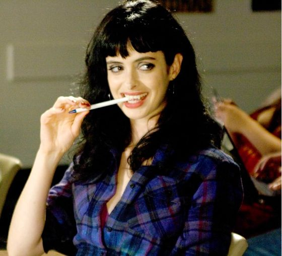 Krysten Ritter (Don't Trust the B in Apt 23) talks about working on Vamps (and living kind)