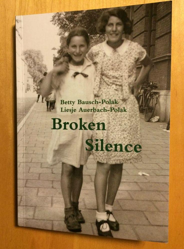 'Broken Silence' memoir by Betty Bausch and her sister Liesje Auerbach. (photo credit: Renee Ghert-Zand/Times of Israel staff)