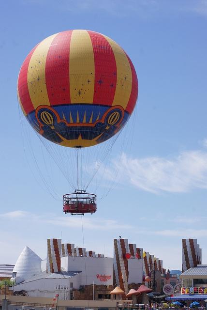 PanoraMagique over Disney Village, Disneyland Paris