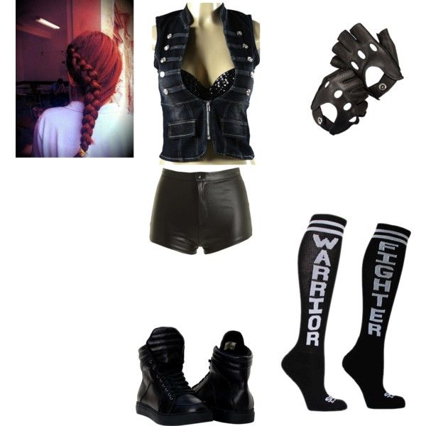 Wwe diva harley ring gear by cheezely on polyvore for Diva attire