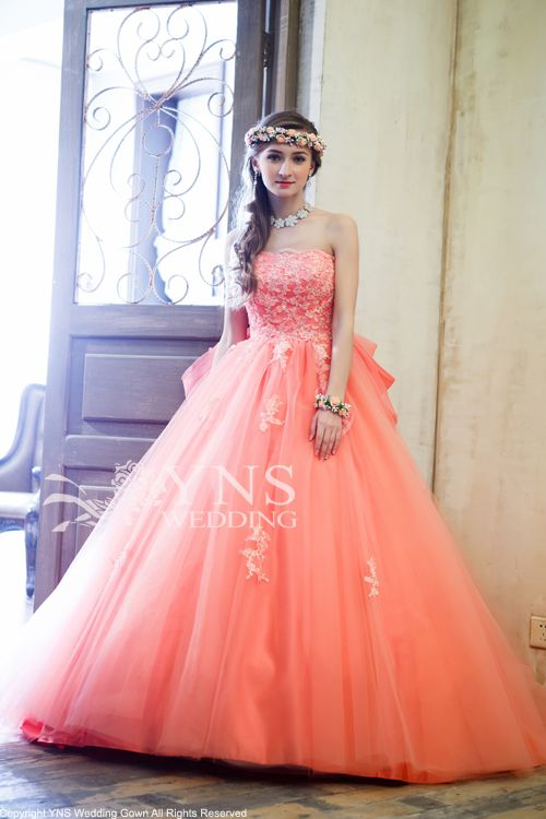 カラードレス オレンジドレス SC14333の詳細画像(1)