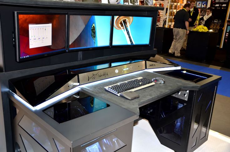 Swordfish: The Ultimate PC Desk Computer For Any Gaming Geek #technology