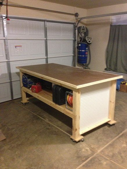My Large Work Bench... My First Real Project.