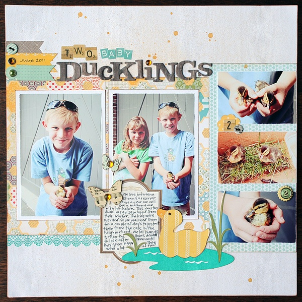 Two Baby Ducklings by Jana Eubank