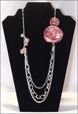 Pearl Center Flower Necklace [N02] - $9.99 : Mikarose, Reinventing Modesty