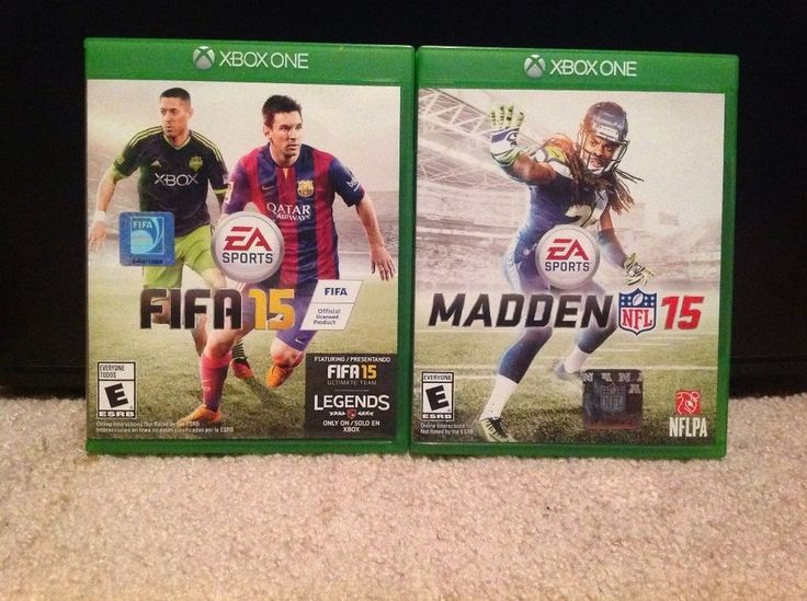 Lot of 2 games Fifa 15 & Madden 15 XBOX ONE #XboxOne