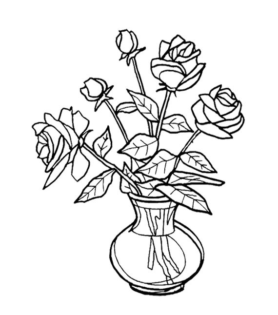 136 best images about roses to color on pinterest coloring