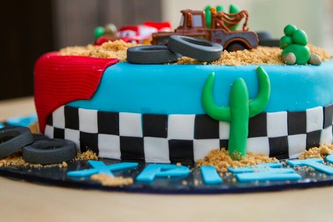 #McQueen #Birthday #Cake