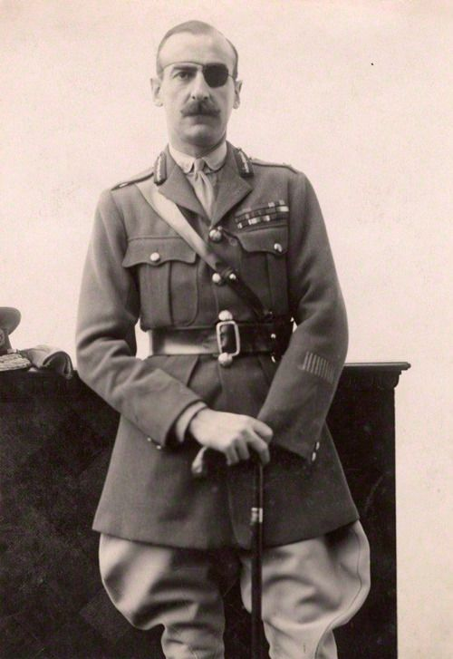 """apostlesofmercy: """" Lieutenant General Sir Adrian Carton de Wiart, a rare breed. Following family expectation Carton went to Balliol College, Oxford, where he lasted not a year before leaving to join the British Army at the time of the Second Boer..."""
