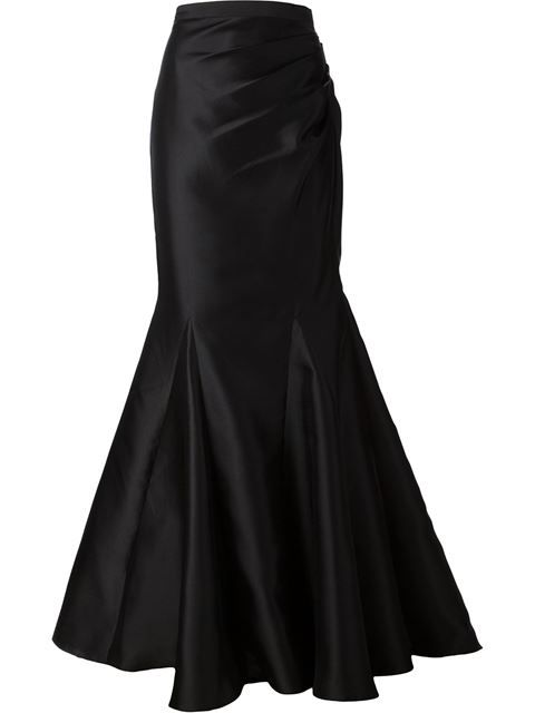 Shop Badgley Mischka fishtail maxi skirt in Tootsies from the world's best independent boutiques at farfetch.com. Over 1000 designers from 300 boutiques in one website.