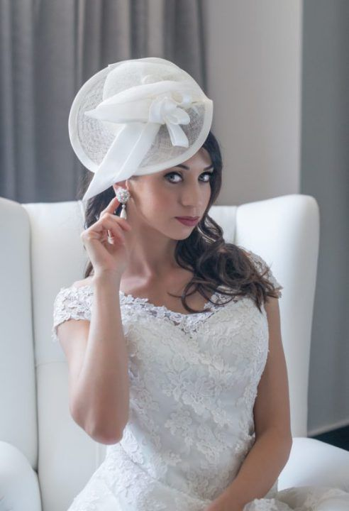 cappello sposa. bridal hat