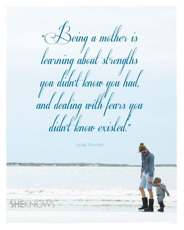 Enjoy this weekend celebrating all the mothers in your life and all the ways you are a mother.