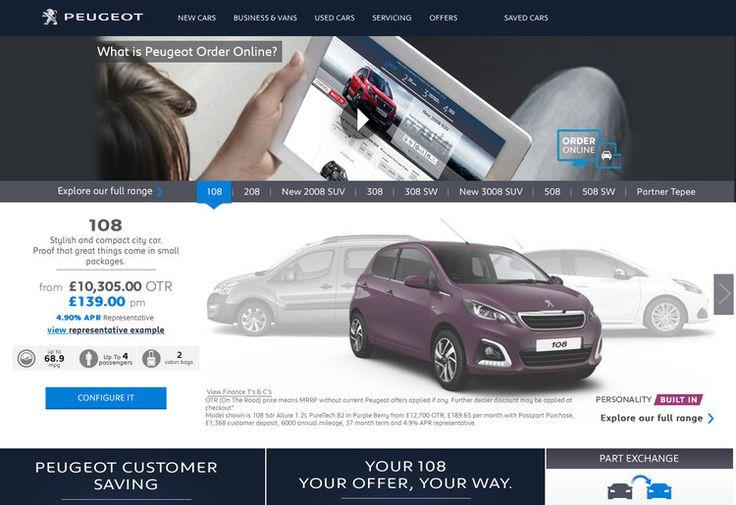 #Peugeot takes #car #sales #online