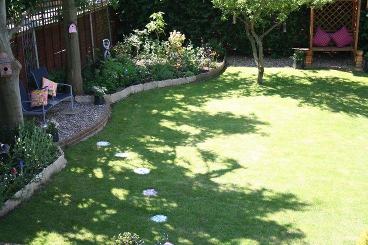 Garden in Bishops Stortford we maintain.