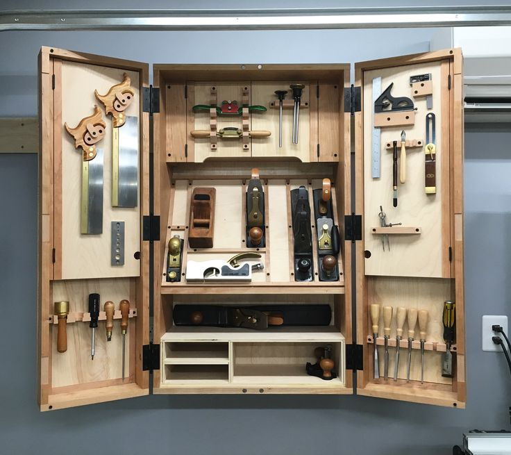 a hand tool cabinet finishing touches blood sweat and sawdust - Tool Cabinets