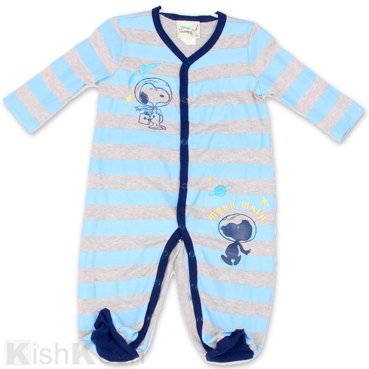 Snoopy Baby Coverall Snoopy Babyboys Kidsclothing