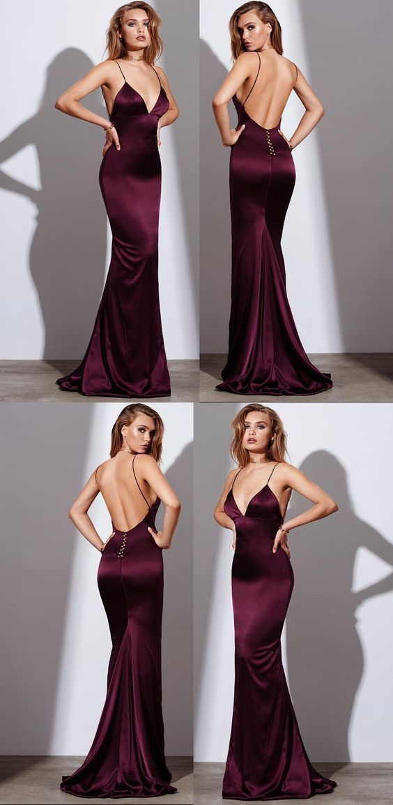 Sexy Burgundy Prom Dress 87fef568fdb0
