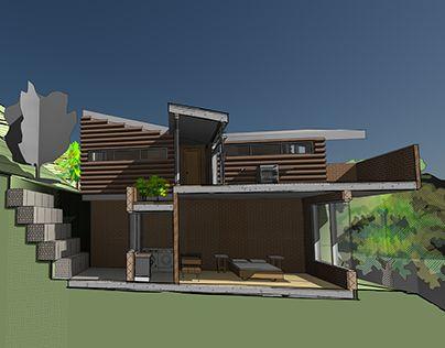 "Check out new work on my @Behance portfolio: ""Casa cuervo proyecto lugar""…"