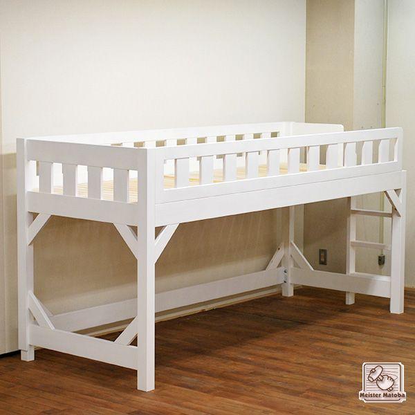 既存ベッドにまたがるロフトベッド No1407047 ロフトベッド ベッド ロフト