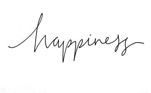 '' Όταν η ευτυχία γνώρισε τον εαυτό της ''