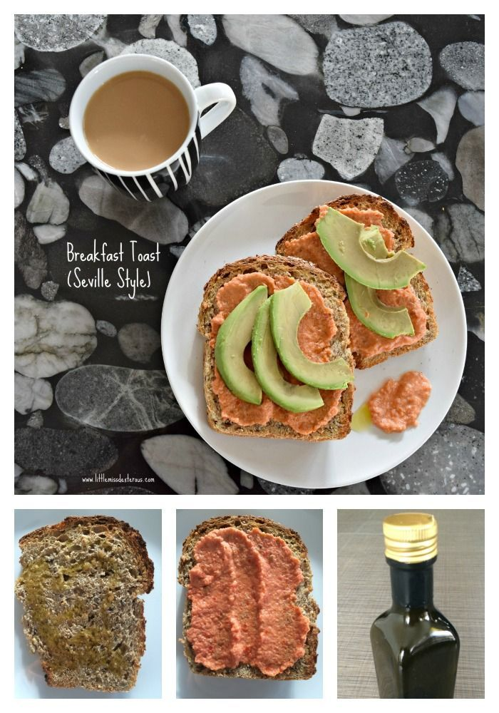Check out this healthy, filling, and delicious Breakfast Toast, Seville Style…