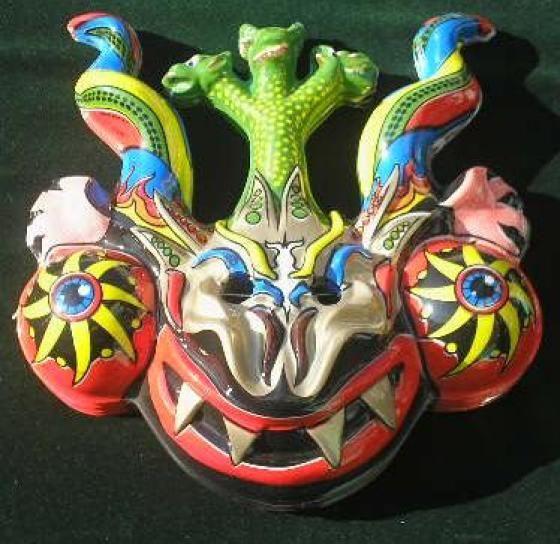 mascaras de la tirana -chile