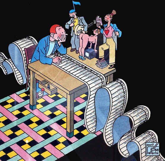 striptekenaar Joost Swarte
