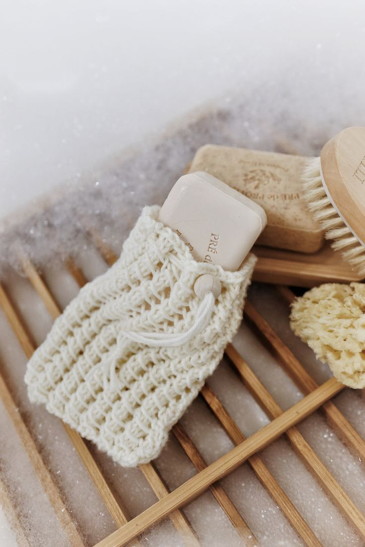 KNITTING PATTERN ⨯ Soap Saver Bag Knit Pattern, Easy Soap ...