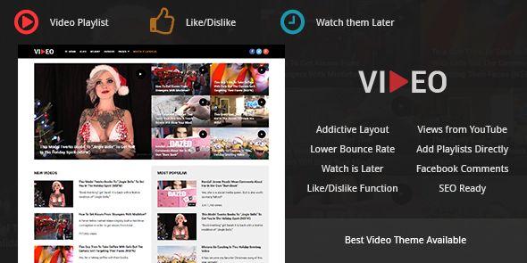 Video – Best WordPress Theme to Start Video Sharing Website like Youtube