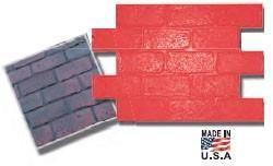 Old Chicago Running Bond Brick Concrete Stamp