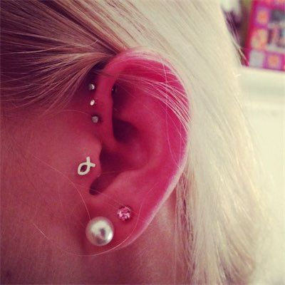 46 best Tragus Piercings images on Pinterest   Piercing ...