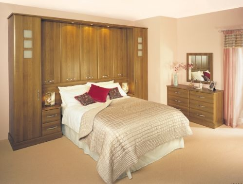 Give a stunning look for your bedroom according to your choice with Geneva Walnut design at affordable price