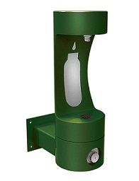 Elkay LK4405BF Bottle Filling Station, EZH2O, Outdoor Tubular, Wall Mounted, Barrier Free, Non-Refrigerated