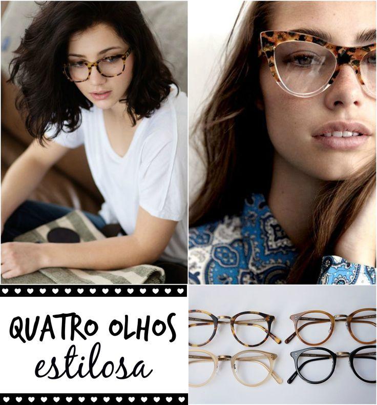 Óculos de grau com estilo